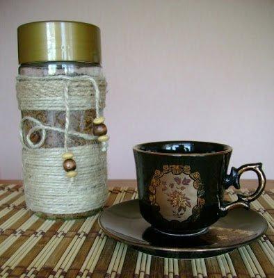 кофе, украшение банок, оформление банок, декор кофейный, веревка, украшение веревкой, джут, шпагат, обматывание, текстиль, декор текстилем, своими руками, подарки кофеманам, подарки для кухни, декорирование банок, декорирование предметов, банки для кофе, банки для сыпучих, рукоделие кофейное, иастер-класс,http://parafraz.space/, http://deti.parafraz.space/, http://eda.parafraz.space/, http://handmade.parafraz.space/, http://prazdnichnymir.ru/, http://psy.parafraz.space/
