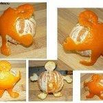 Какой тяжелый мандарин! — мандариновый человечек