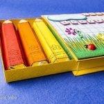 Шоколадные карандаши в пенале (МК)
