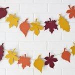 Шаблоны листьев для поделок и рукоделия