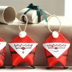 Санта-Клаус — игрушка-упаковка для конфет
