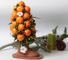 декор новогодний, декор рождественский, декор интерьерный, декор новогодний, дерево мандариновое, ёлка из мандаринов, подарки на Новоый год, топиарий, топиарий мандариновый, топиарий съедобный, декор для дома, декор праздничный, декор своими руками, птопиарий своими руками, Новый год, Рождество, оформление новогоднее, для интерьера, оформление рождественское, топиарий мандариновый, подарки новогодние,