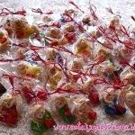 Как упаковать мелкие сувениры в прозрачный целлофан (МК)