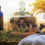 Сухие цветы для украшения ванной (МК)