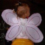 Крылья бабочки для карнавального костюма