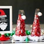 """""""Шоколадный колпак Санты"""" - рождественская упаковка конфет"""