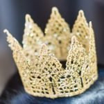 Корона из текстильного кружева. МК