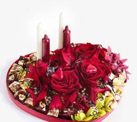 Что вручить девушке на 14 февраля, День Святого Валентина, 14 февраля, День Влюбленных, праздники зимы, праздники февраля, любовь, про любовь, чувства, про чувства, про праздники, подарки, подарки девушке, для женщин, конфетные композиции, подарки из конфет, подарки с цветами, подарки со свечами, подарки романтические, подарки на День Влюбленных, подарки своими руками, конфетные букеты своими руками, мастер-класс, романтический ужин, http://handmade.parafraz.space/