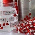 Сюрприз с любовными признаниями на День Влюбленных - МК и идеи