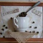 Оригинальные кофейные панно своими руками - МК и идеи