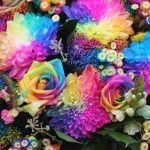 Как окрасить живые цветы самостоятельно
