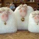 Ах, ты, бедная овечка! - выкройка и идеи на год Овцы и не только