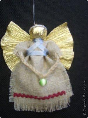 ангелы, ангелы из ткани, куколки из ткани, куколки народные, ангелы на Рождество, из ткани, подвески, ангелы-подвески, мастер-класс, своими руками, поделки с детьми, игрушки на елку, праздничный декор, мастерим с детьми, декор для дома,