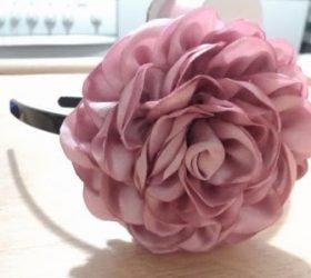 канзаши, цветы, цветы из ткани, цветы из ленты, розы, розы из ткани, розы из ленты, текстиль, цветы текстильные, декор цветочный, украшения, цветы для украшений, Роза в технике канзаши. Мастер-класс