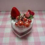 Пирожное «Сердечко» из полотенца (МК)