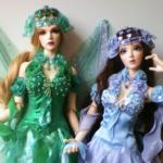 Шикарные наряды для кукол - фото-идеи