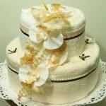 Как сделать торт из полотенец своими руками - МК и идеи