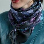 Как красиво завязать шарф или платок (1)
