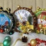 Как сделать новогодние конфетные часы и - МК и идеи