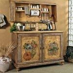 Декупаж для кухни: обновление мебели своими руками