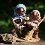 Лесной народец - забавные поделки из природных материалов
